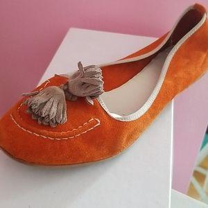 Mercanti Fiorentini Orange Mocs